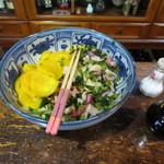セイユウ - 自家製の漬け物は、食べ放題