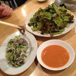 桔梗トラジ - ムンチ(グリーンサラダ)が美味い!