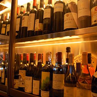 グラスワインが豊富!
