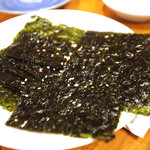 牛繁 - 韓国海苔200円×2。