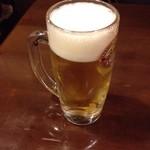 近江町食堂 - 生ビール中520円