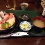近江町食堂 - 海鮮丼1770円