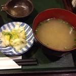 近江町食堂 - しじみのみそ汁