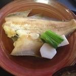 味工房 八月 - ランチ煮魚