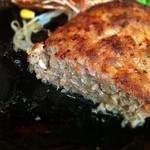グリル&カレー カキヤス - 普通に旨いハンバーグ