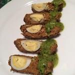 ガラムマサラ - ラムとうずらの卵のコフタ
