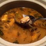 ガラムマサラ - ムール貝のスープ