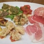 トラットリア クアクア - トスカーナ風前菜盛り合わせ二人前(1,750円)dinner
