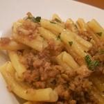 トラットリア クアクア - 魚介のラグーソース カザレッチェのパスタ(1,400円)dinner