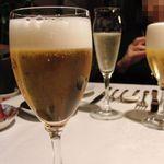 ristorante ANDREA - スプマンテや、ビールで乾杯です
