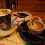 COCOA SHOP AKAITORI - アイスココア & ダークチェリープティング