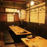 酉蔵-古民家造りの店内で本格鳥料理が堪能できます!