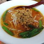 火四季 - スープから200円で変更した台湾味噌ラーメン