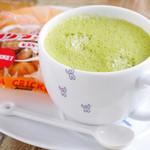 山cafe - 抹茶ラテ(HOT/ICE)