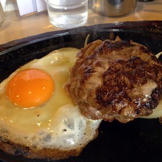 スイス - 今回もハンバーグステーキ(500円)