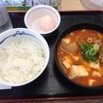 松屋 - 豆腐キムチチゲセット