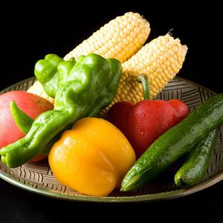 野菜は吉井産の採れたて野菜!