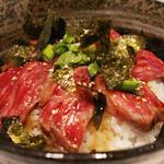 わしの肉 - 牛たたき丼 880円