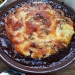 食堂 manma - カレーハンバーグドリア
