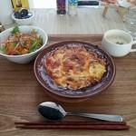食堂 manma - 自家製カレーハンバーグドリア