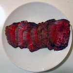 横山精肉店 - 料理写真:あしたか牛せり権有り長泉の横山精肉店自家製炭火焼ローストビーフ
