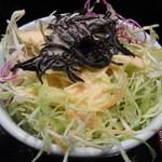和食処 きむら - サラダのドレッシングも美味