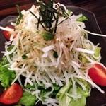 ぢどり亭 - 大根サラダ(¥399)