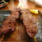 徳永肉酒場 - 牛ロースと牛タン