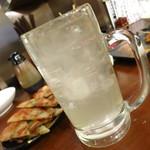徳永肉酒場 - レモンサワー320円