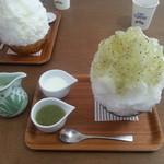 埜庵 - ヨーグルト練乳&キウイ+おかわり練乳2013年