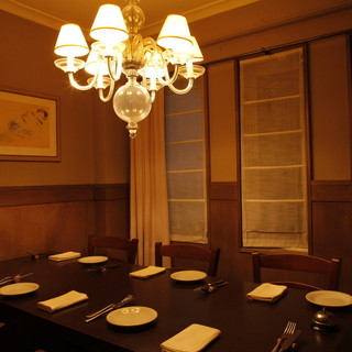 落ち着いた個室空間で本格イタリアンを堪能♪