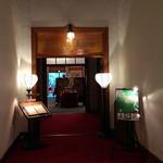 メインダイニングルーム 三笠 - ダイニングの入口