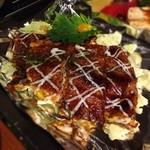 たこ八 -  とん平(豚肉と玉子と特製生地焼):480円