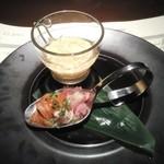 土龍 mogura - 2.スプーンにお魚