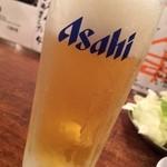 焼肉酒場 すみびや - 冷え冷え生ビール