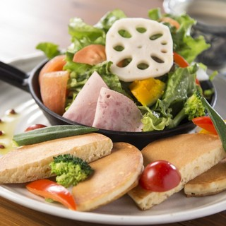 野菜が新鮮で甘くて美味しいです♪