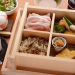 もつ焼き いしん - 【限定15食】国産野菜とせいろ蒸し豚ランチ