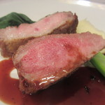 OGINO organic Restaurant - 北海道石狩浅野農場豚肩ロースのソテー マデラ酒のソース