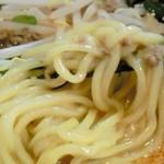 らーめんの店 ヨーコソ - タンタンメン麺拡大