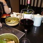 博多華味鳥 - 赤ワイン
