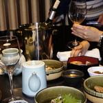 博多華味鳥 - 白ワイン
