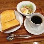 ティムタム - おはさま〜☻ トーストモーニング ¥370