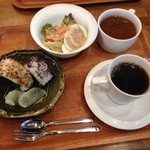 ティムタム - おはさま〜☻ おにぎりモーニング ¥370