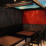 軍鶏吉 - テーブル席