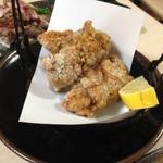 水たき 一慶 - 鶏の唐揚げ