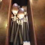 kanakoのスープカレー屋さん - テーブルの上に 【 2013年12月 】