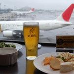 アビオン - ビールと枝豆・チーズ