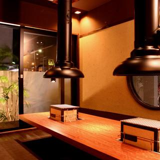 【個室・貸切について】個室は、庭を眺めながら、優雅なひと時♪