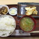 大輝 - 焼魚定食(鯛の粕漬け)