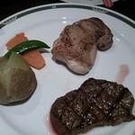 23333142 - ステーキ&若鶏のグリルセット